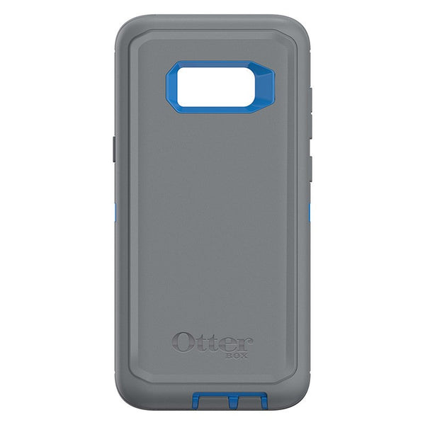 Cases, Covers, Skins - OtterBox Defender Case Tough Cover For Samsung Galaxy S8 Plus - Blue/Grey