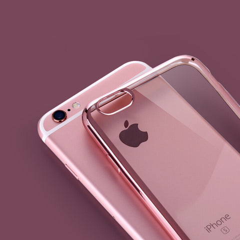 Crystal Clear Ultra Slim Soft TPU Gel Cover Case for Apple iPhone 7/8