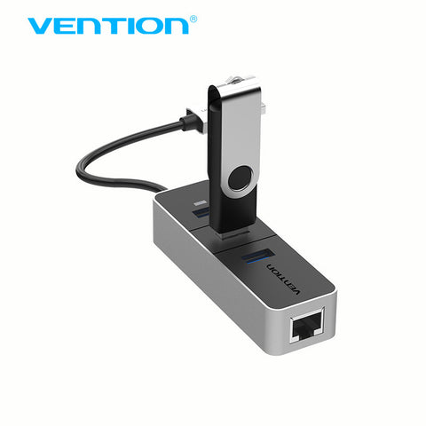 Network Interface Cards - VENTION USB 3.0 Hub With Gigabit Ethernet Network Adapter Cable