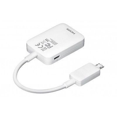 Cables, Adapters - MHL HDTV HDMI AV Adapter For Samsung Galaxy Note 3 2 Trend S4 S3 S5 HTC One SONY Z2