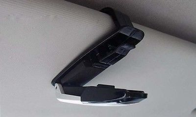 Car Accessory - Car Sunglasses Clip Vehicle Sun Visor Sunglasses Eye Glasses Card Pen Holder Mount