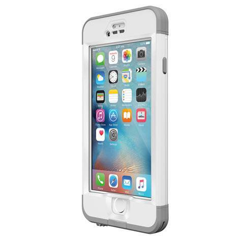 Cases, Covers, Skins - LifeProof Nuud Case Cover For IPhone 6S Plus - AVALANCHE WHITE