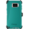 Cases, Covers, Skins - OtterBox Defender Case Cover For Samsung Galaxy Note 5 - Whisper White PC/Light Teal Silicone