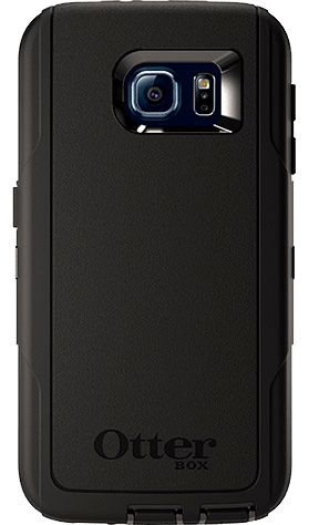 Cases, Covers, Skins - OtterBox Defender Case Cover For Samsung Galaxy S6 - Black