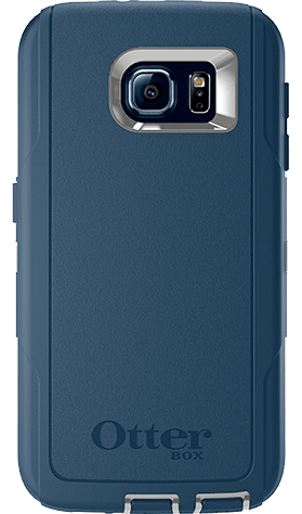 Cases, Covers, Skins - OtterBox Defender Case Cover For Samsung Galaxy S6 - Casual Blue