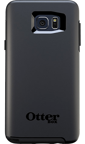 Cases, Covers, Skins - OtterBox Symmetry Case Cover For Samsung Galaxy Note 5 - Black