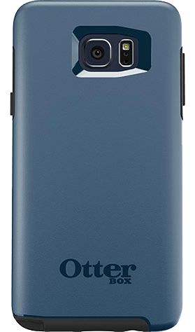 Cases, Covers, Skins - OtterBox Symmetry Case Cover For Samsung Galaxy Note 5 - Dark Deep Water Blue/Slate Grey