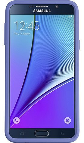 Cases, Covers, Skins - OtterBox Symmetry Case Cover For Samsung Galaxy Note 5 - Whisper White PC/Periwinkle Purple Silicone