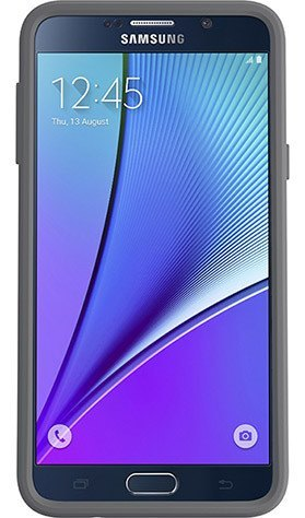 Cases, Covers, Skins - OtterBox Symmetry Case Cover For Samsung Galaxy Note 5 - White/Gunmetal Grey
