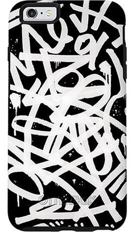 Cases, Covers, Skins - OtterBox Symmetry Design Case Suits IPhone 6 Plus/6S Plus - Black/Black/Graffiti Graphic