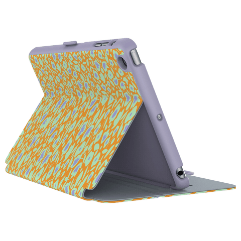 Cases, Covers, Skins - Speck StyleFolio IPad Mini 4 Case Cover - Kurbits Floral Orange