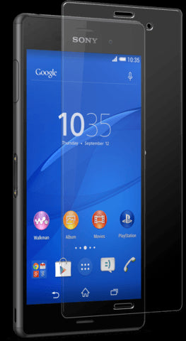 Cases, Covers, Skins - Tempered Glass Film Ultra Thin Screen Protector For Sony Xperia Z3 Retail Packaging