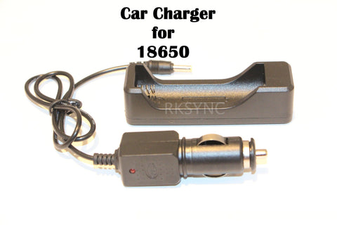 Chargers - Car Charger For 18650 And 26650 Rechargeable Li-Ion Battery 12V-24V Truck Travel