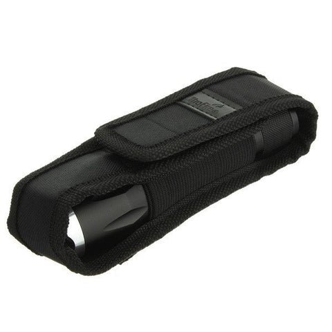 Flashlight,Torch Cover - FOR UltraFire Outdoor Nylon Flashlight Torch Holder Case Pouch LED Torch Cover
