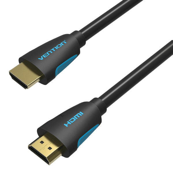 HDMI Cables - Vention 2m HDMI Cable Round Plug To Plug High Speed 3D 4K Designer Series Lead