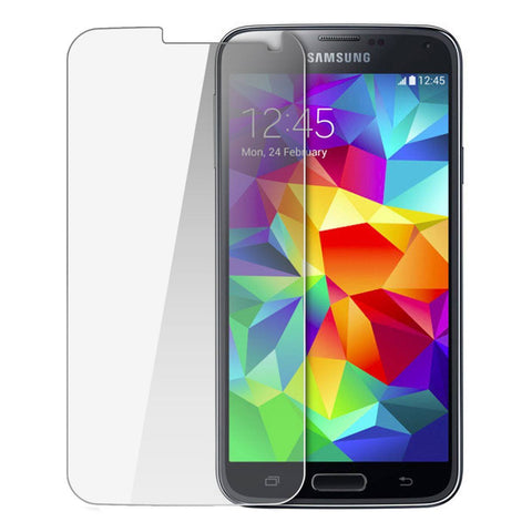 Screen Protector - Tempered Glass Film Screen Protector For Samsung Galaxy S5 Retail Packaging
