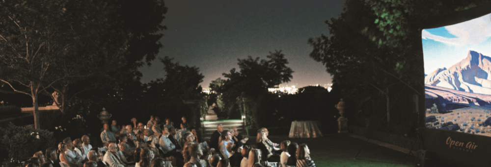 Open Air Cinema - OutdoorMovie_Experience