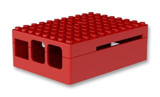 Multicomp® - Pi-Blox® Case in Multiple Colours - RED