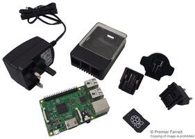 Element14® - Raspberry Pi®3 Model B, Starter Kit