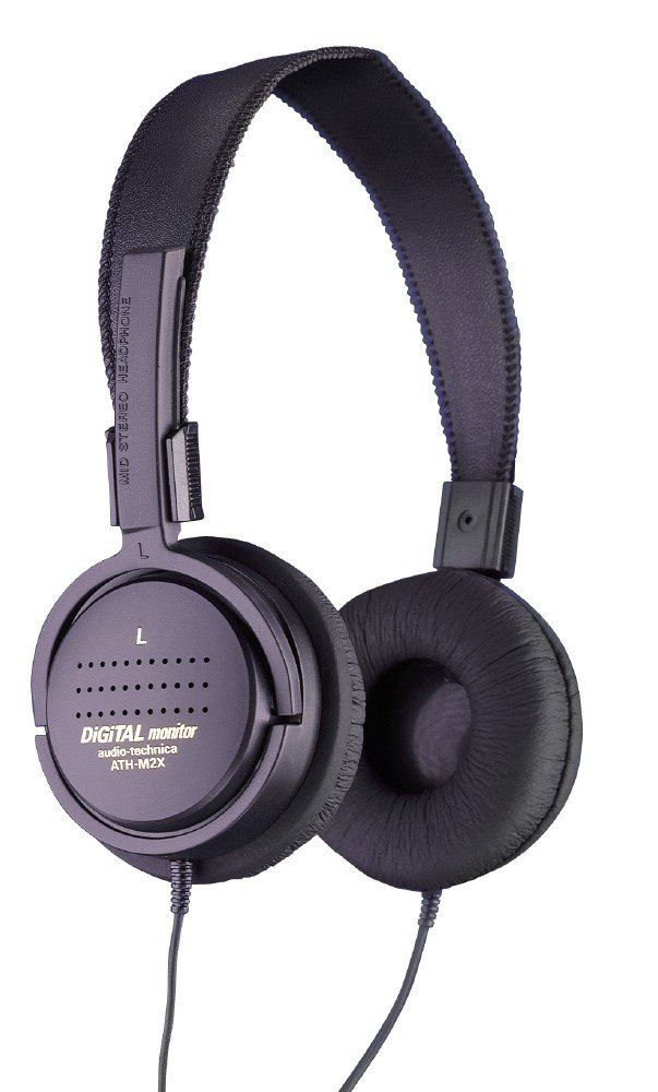 Audio Technica® - ATH-M2X Mid-Size, Open Back, Dynamic Stereo Headphones