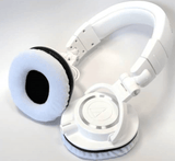 ATH Series Headphone Replacements-PAIRS with White Colours