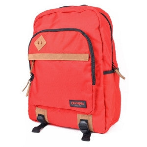 "Olympia Aston Notebook Backpack - Fits Up to 15.6"" (Red) - BP-2300"