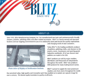 Blitz Jewelry Care and Cleaning