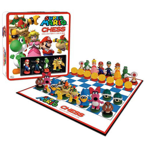 Toy - Board Game - Super Mario - Chess With Mini Figures (Nintendo)