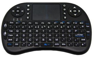 QWERTY - Mini Wireless Keyboard & Touchpad - QWERTY PAD