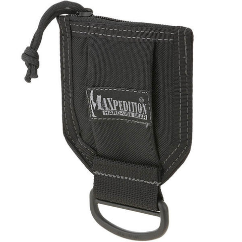 D-Bag, Black - Zip Pouch + 2inch D-Ring