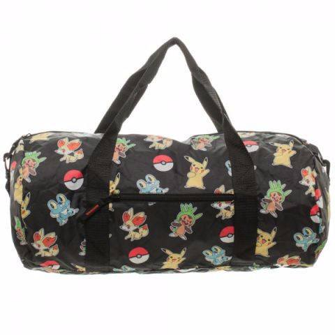 Bag: Pokemon - Packable Duffle, Bioworld Bag - Pokemon, AAA Anime Distribution, CIVILSTOCK