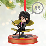 DISNEYSTORE-Edna Mode Talking Sketchbook Ornament