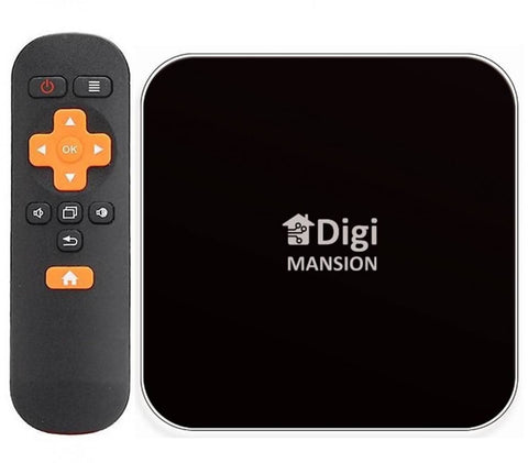 Digimansion DM-V6+ TV BOX 4GB RAM and 32GB flash memory