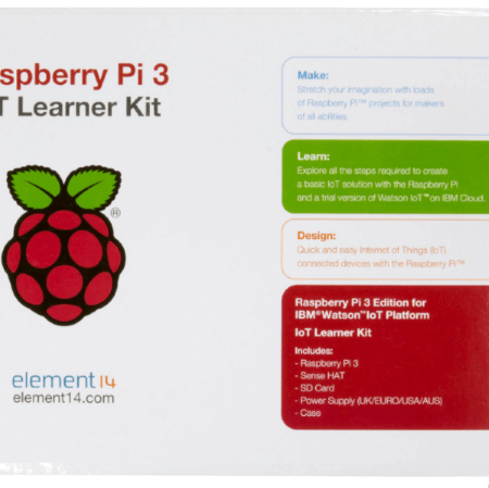 Element14® - Raspberry PI® 3 IBM IoT Learner Kit-ZOOM_VIEW