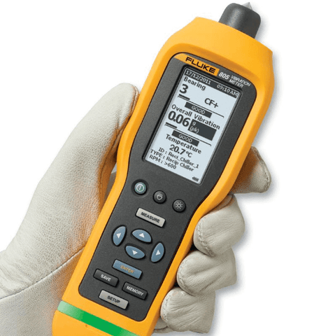 FLUKE® - 805 Digital Vibration Meter, 30dB-130dB Front View
