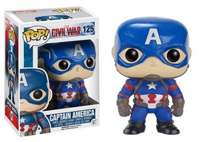 Captain America 3: Civil War - Captain America POP Vinyl Bobble Figure