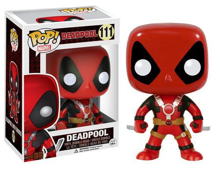 Deadpool: Deadpool Two Swords POP Vinyl Figure