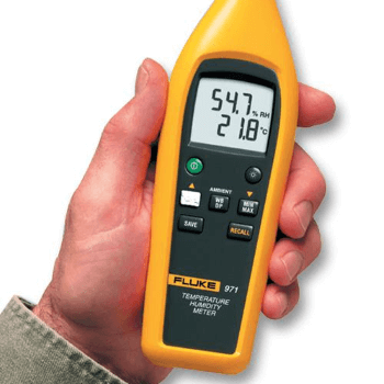Fluke® - Temperature Humidity Meter, FLUKE-971_ZOOM-VIEW