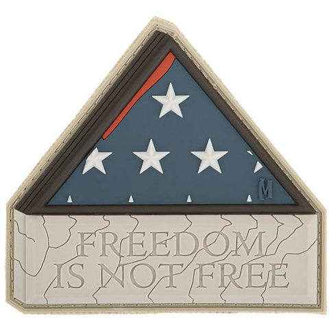 Freedom Is Not Free Patch, Arid, 3 x 2.8