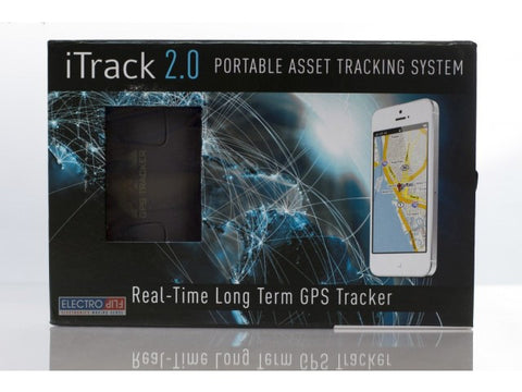 iTrack 2.0 - Real-Time Long Term GPS Tracker