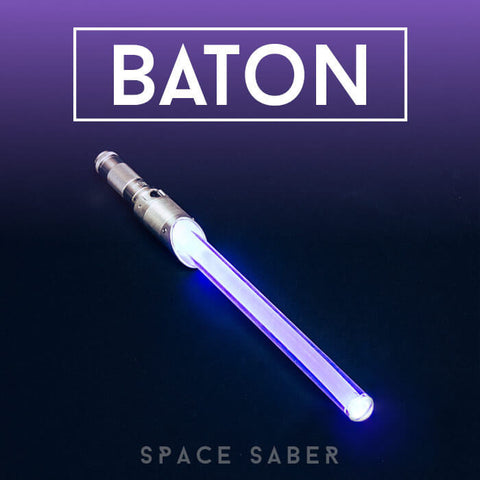 Customizable GloFX Space Saber – Baton, 36 Colour Modes