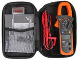 Digital Multimeter with Current Clamp, TRMS with accessories and case