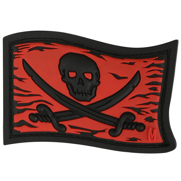 Jolly Roger Patch, Full Color, 2.25 x 1.5