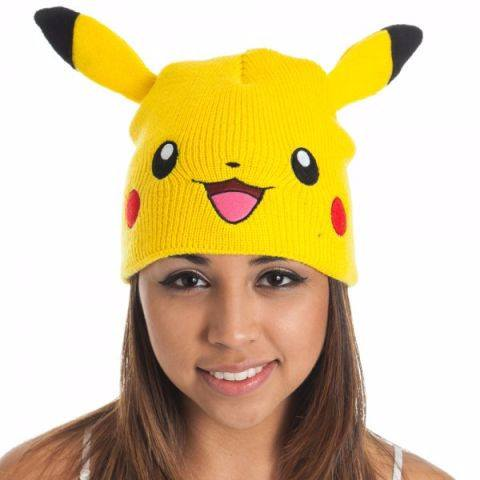 Beanie: Pokemon - Pikachu w/ Ears, Bioworld Apparel - Pokemon, AAA Anime Distribution, CIVILSTOCK