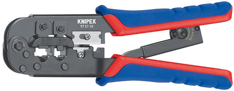KNIPEX® - Crimping Pliers for Western plugs - RJ11-12 and RJ45