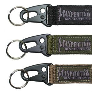 Maxpedition® - Keyper™ Alloy Snaphook, Black