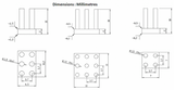 MULTICOMP  - Heat Sink Kit for Raspberry Pi® - Schematic