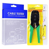 Network Cable Tester and RJ-45 Crimping Tool Kit Packaging