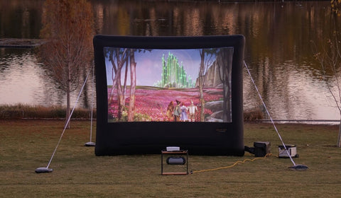 Open Air Cinema - NEW! Outdoor Home 12' Wireless System