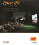 Open Air Cinema - Outdoor Screens and AV Systems, Made in USA